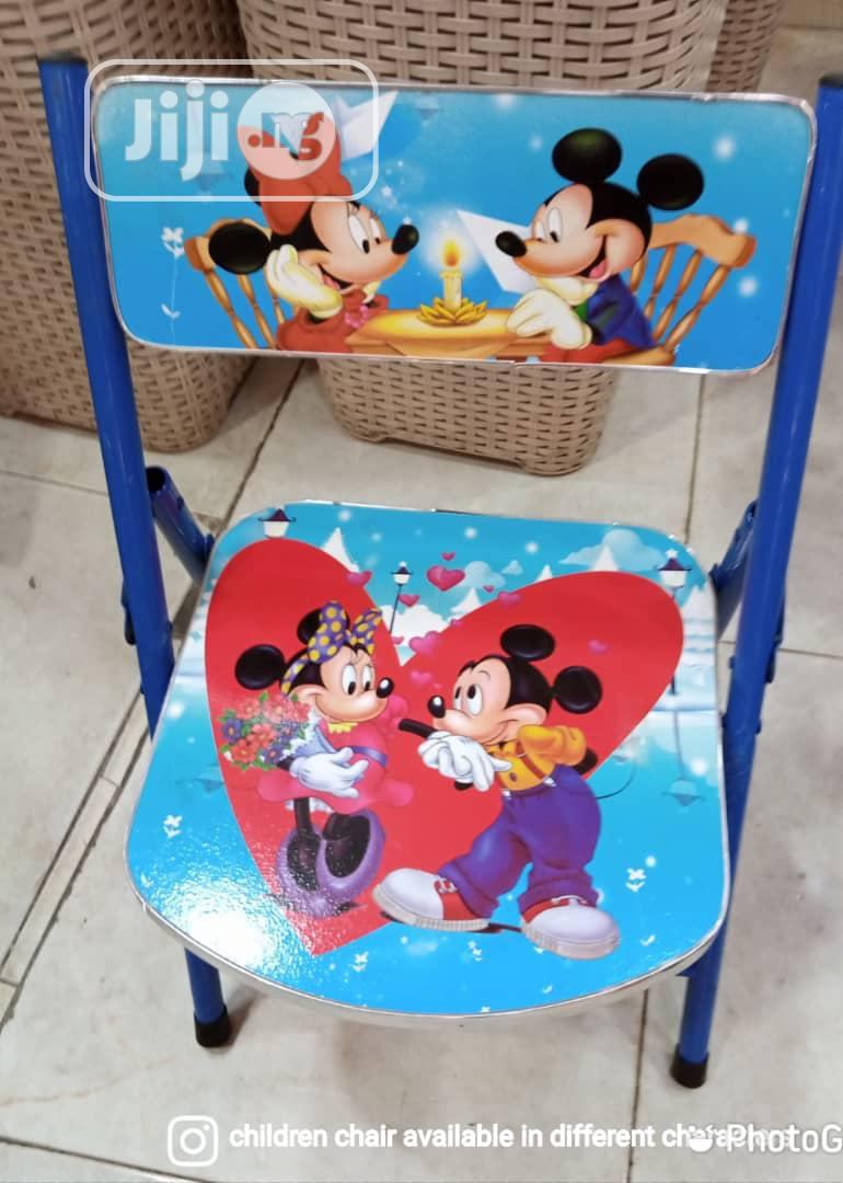 Kid Character Chair.