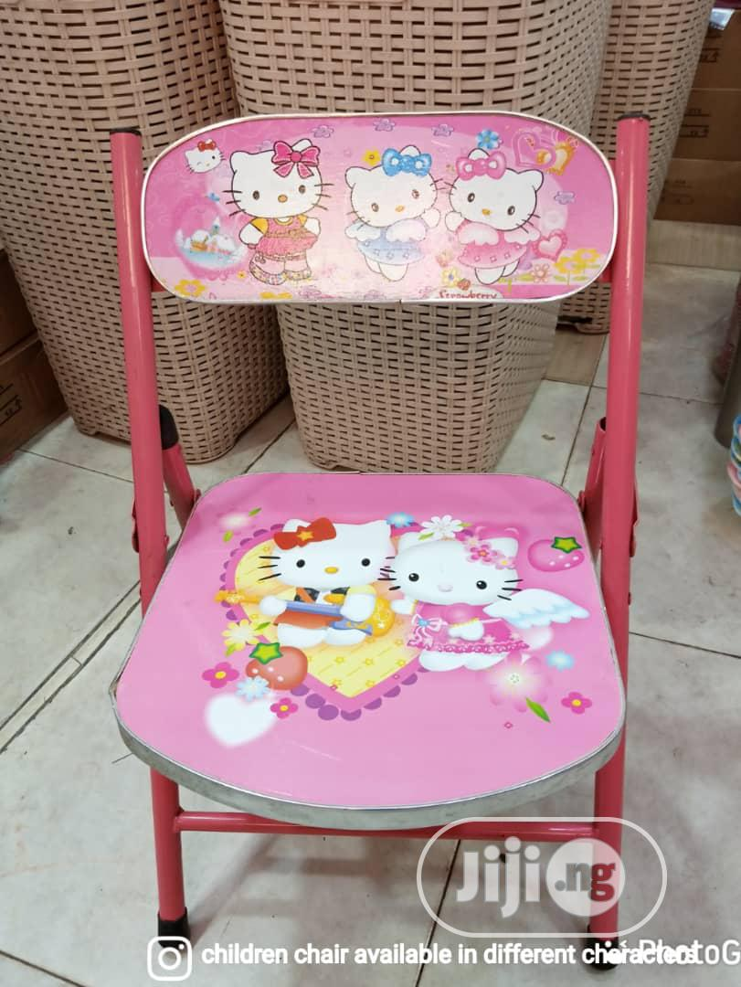 Kid Character Chair. | Children's Furniture for sale in Ifako-Ijaiye, Lagos State, Nigeria