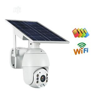 PTZ Wireless Outdoor Solar Powered Wifi Security Battery IP Camera 4G | Security & Surveillance for sale in Lagos State, Ikeja