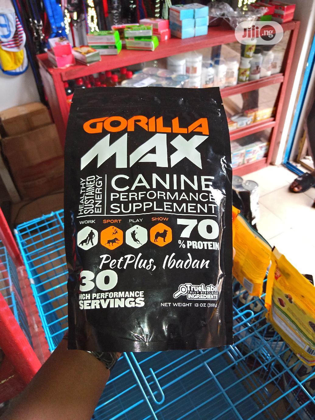 Gorilla Max Supplement