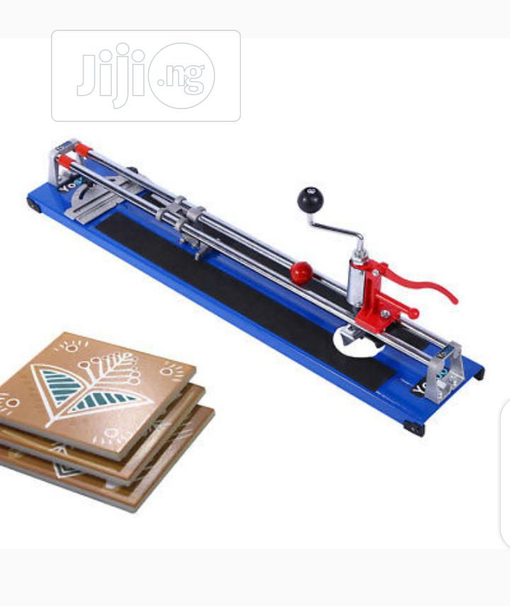 Archive: Manual Tile Cutter