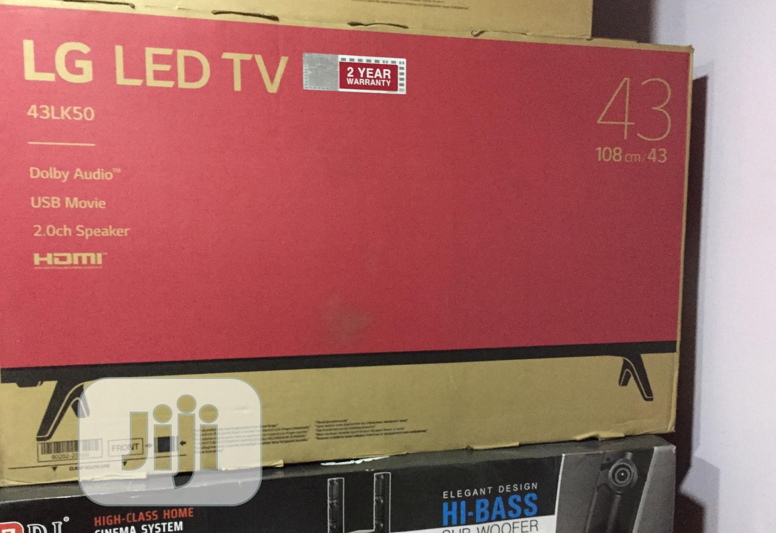 Archive: LG 43 Inches Television With Free Power Surge And Tv Hanger