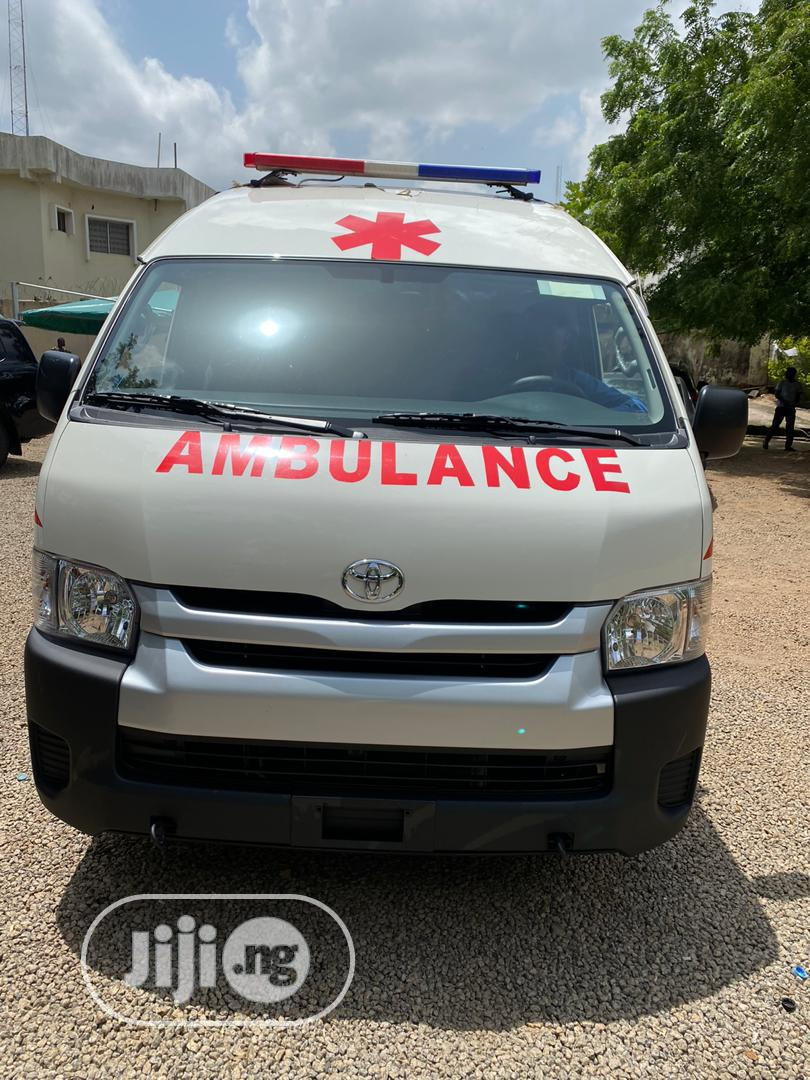 Brand New 2019 Toyota Ambulance Bus