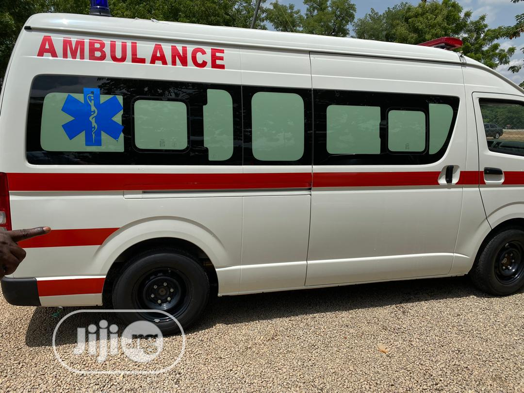 Brand New 2019 Toyota Ambulance Bus | Buses & Microbuses for sale in Maitama, Abuja (FCT) State, Nigeria