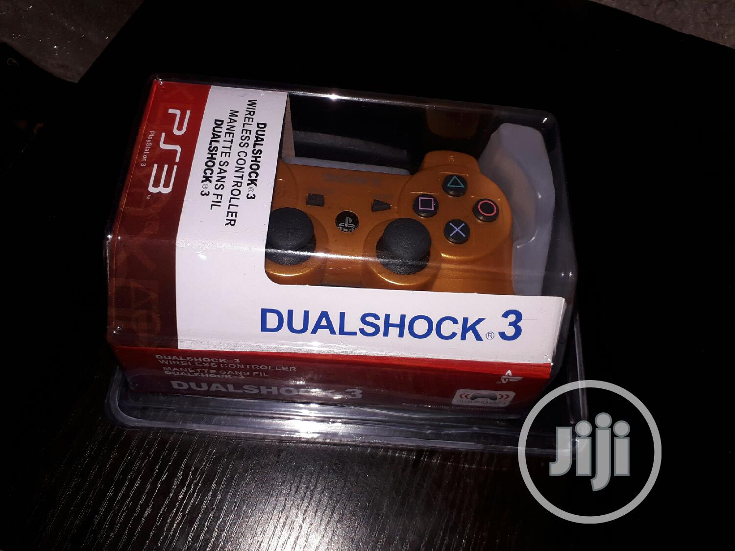 Playstation 3 Pad Gold