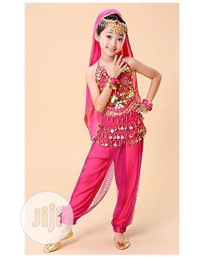 New Belly Dance Indian Girls Costume-Pink,Blue and Purple | Children's Clothing for sale in Lagos State, Ojota