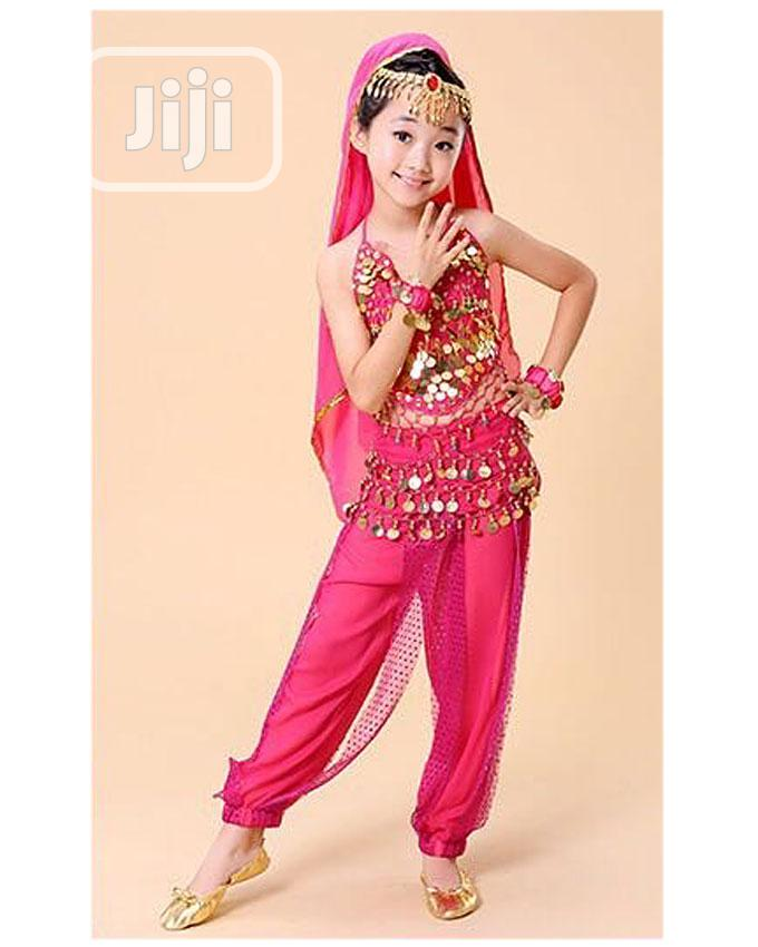 New Belly Dance Indian Girls Costume-Pink,Blue and Purple