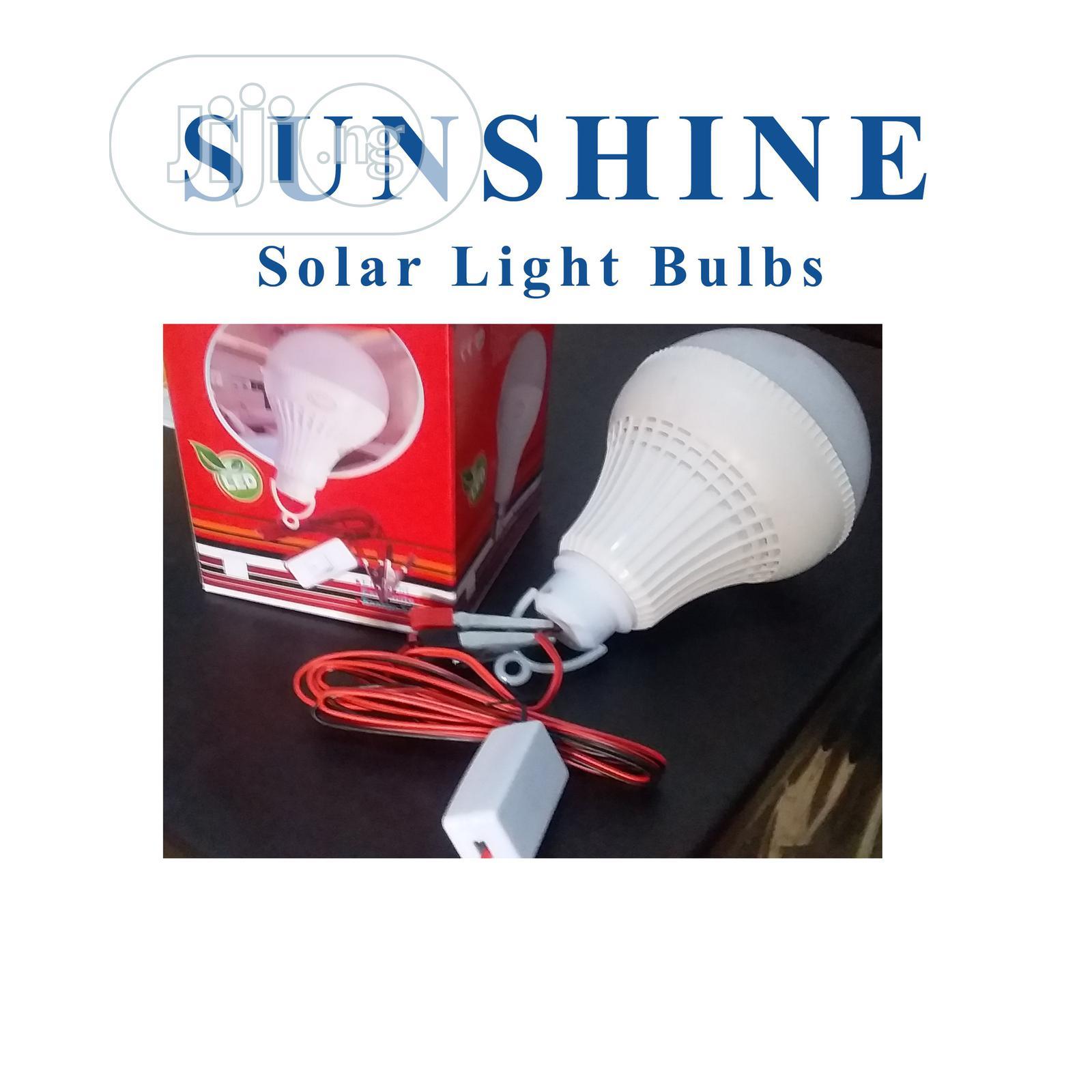 Brazel Sunshine Solar DC Light Bulbs (12 Watts)