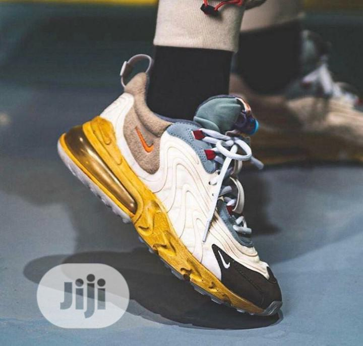 Travis Scott X Nike Air Max 270 React | Shoes for sale in Magodo, Lagos State, Nigeria