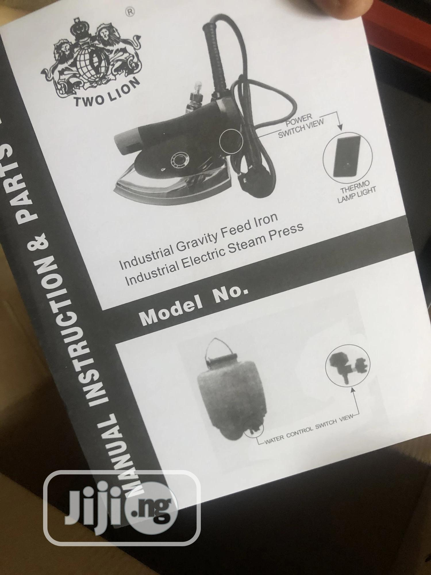 Archive: Brand New Two Lion Industrial Steam Iron