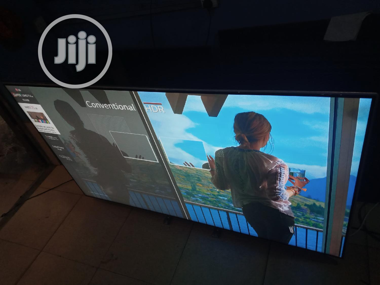 UK Fairly Used 65 Inches LG Ultra Slim Oled 4k Smart TV | TV & DVD Equipment for sale in Ikeja, Lagos State, Nigeria