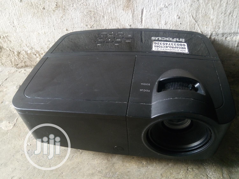 Infocus In112a Portable 3D DLP Projector - SVGA, 3000 Lumens, HDMI,