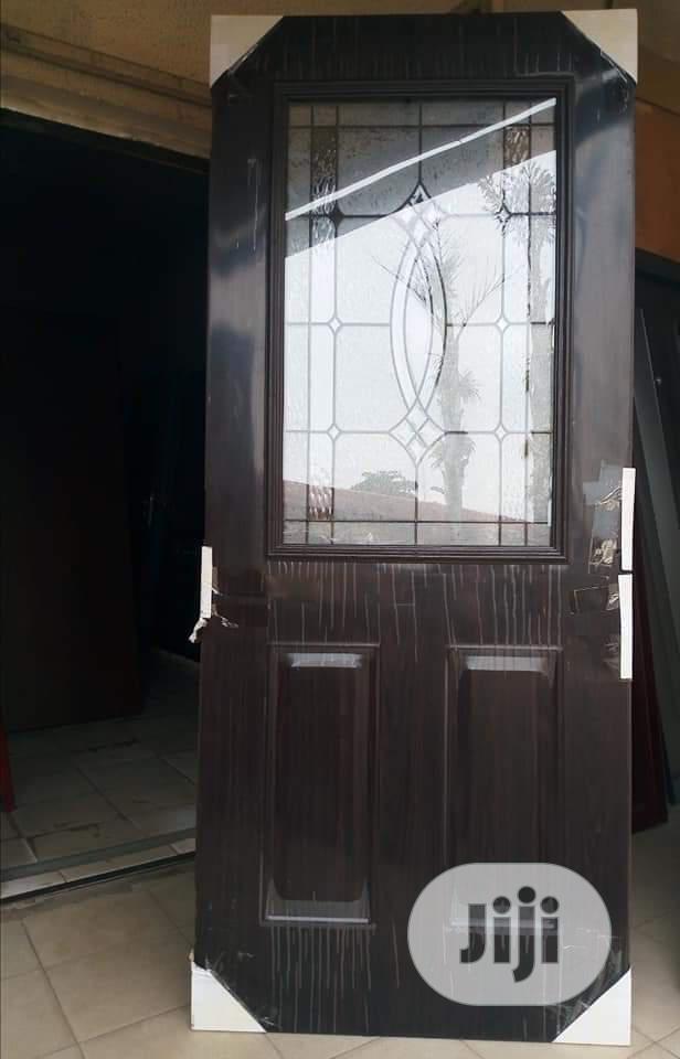 Glass American Steel Door