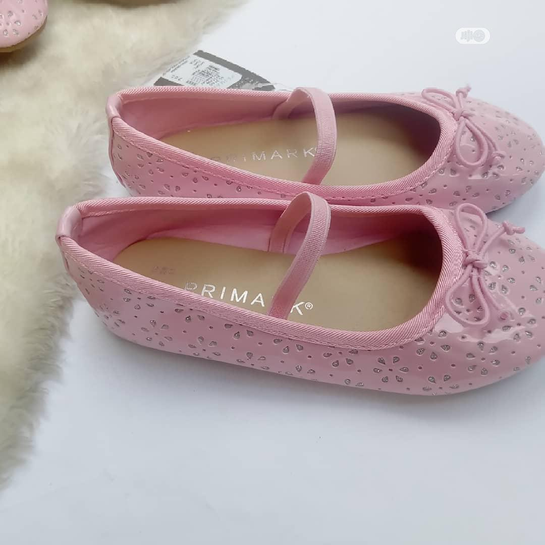 Archive: Girls Pink Ballet Shoes