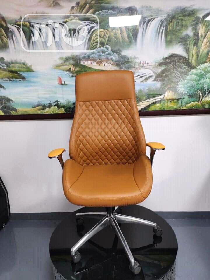 Brand New Imported Super Quality Executive Leather Office Chair .