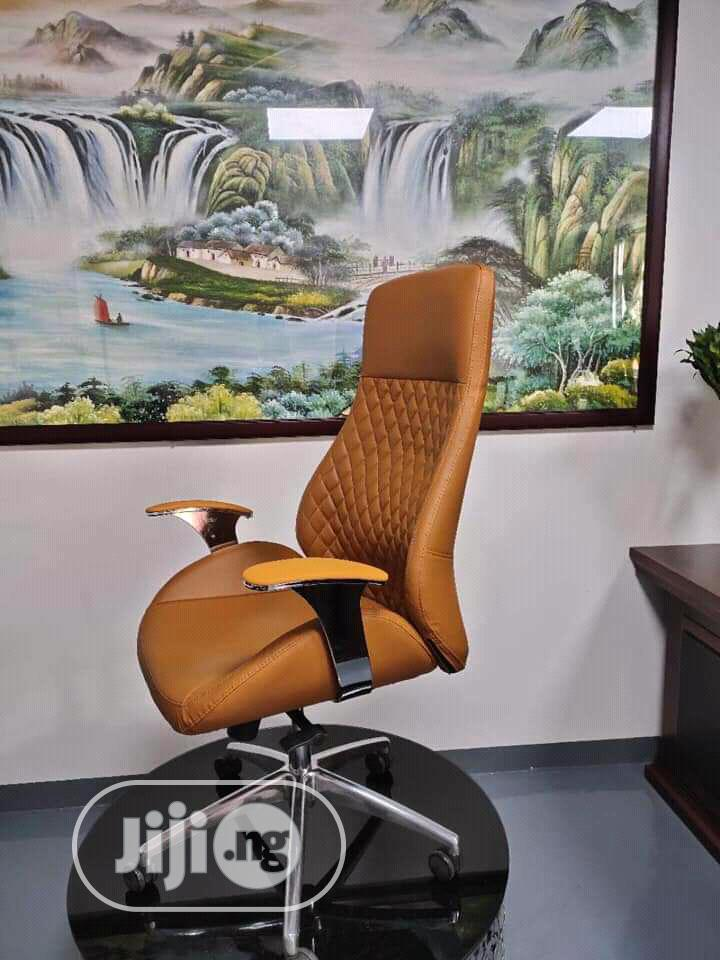 Brand New Imported Super Quality Executive Leather Office Chair.