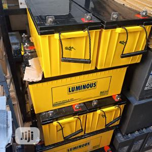 12V 200ah Luminous Deep Cycle Solar Batteries | Solar Energy for sale in Lagos State, Ajah