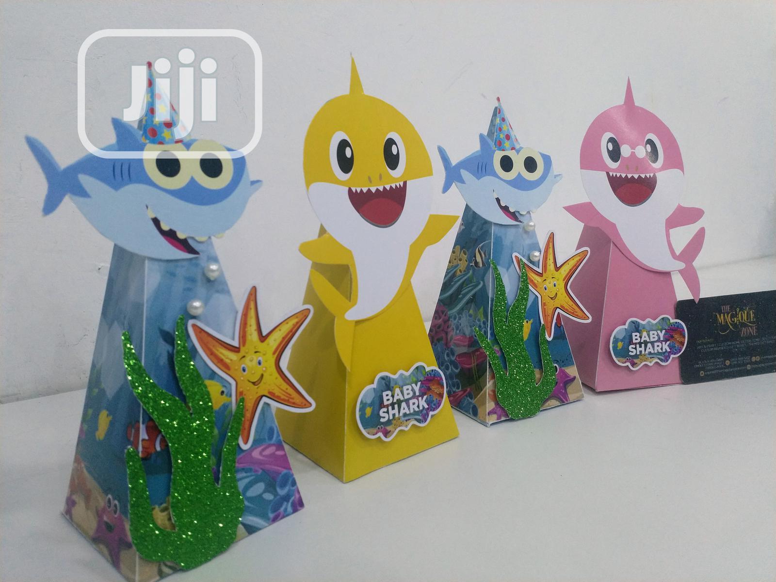 Archive: Baby Shark Theme Cone Shaped Treat Box