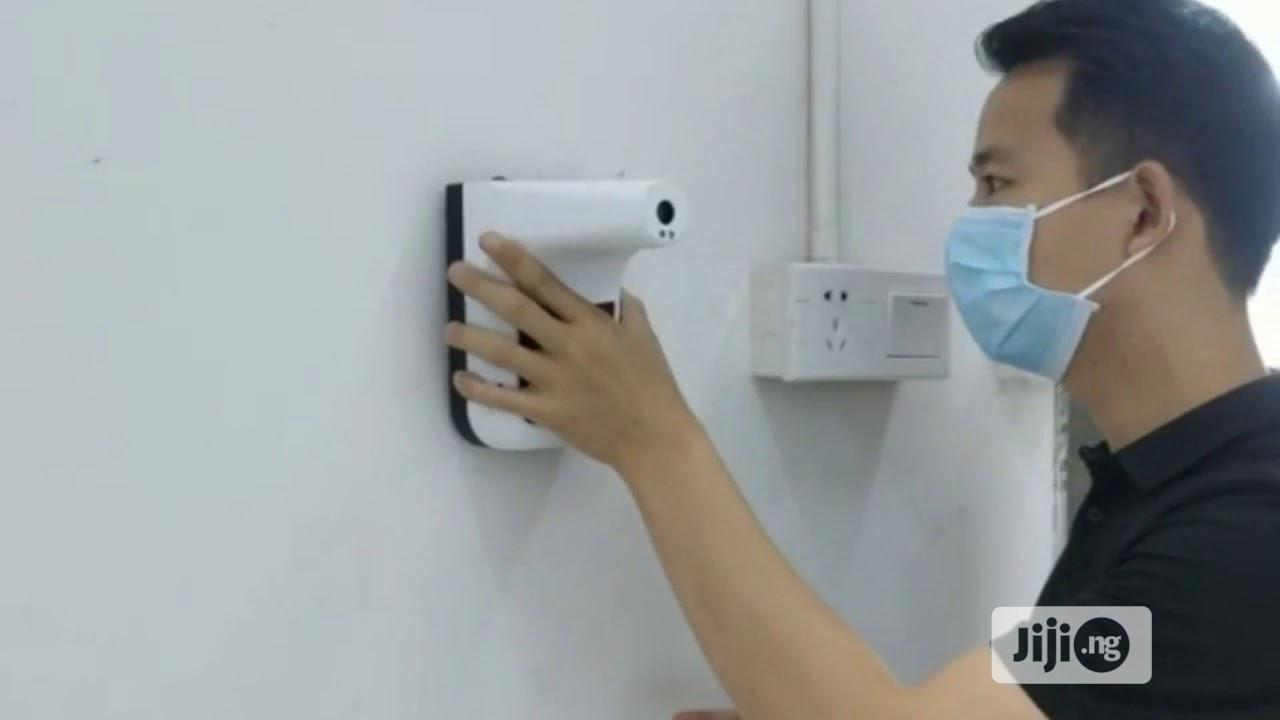 Wall Mounted Infrared Thermometer Forehead   Medical Equipment for sale in Amuwo-Odofin, Lagos State, Nigeria
