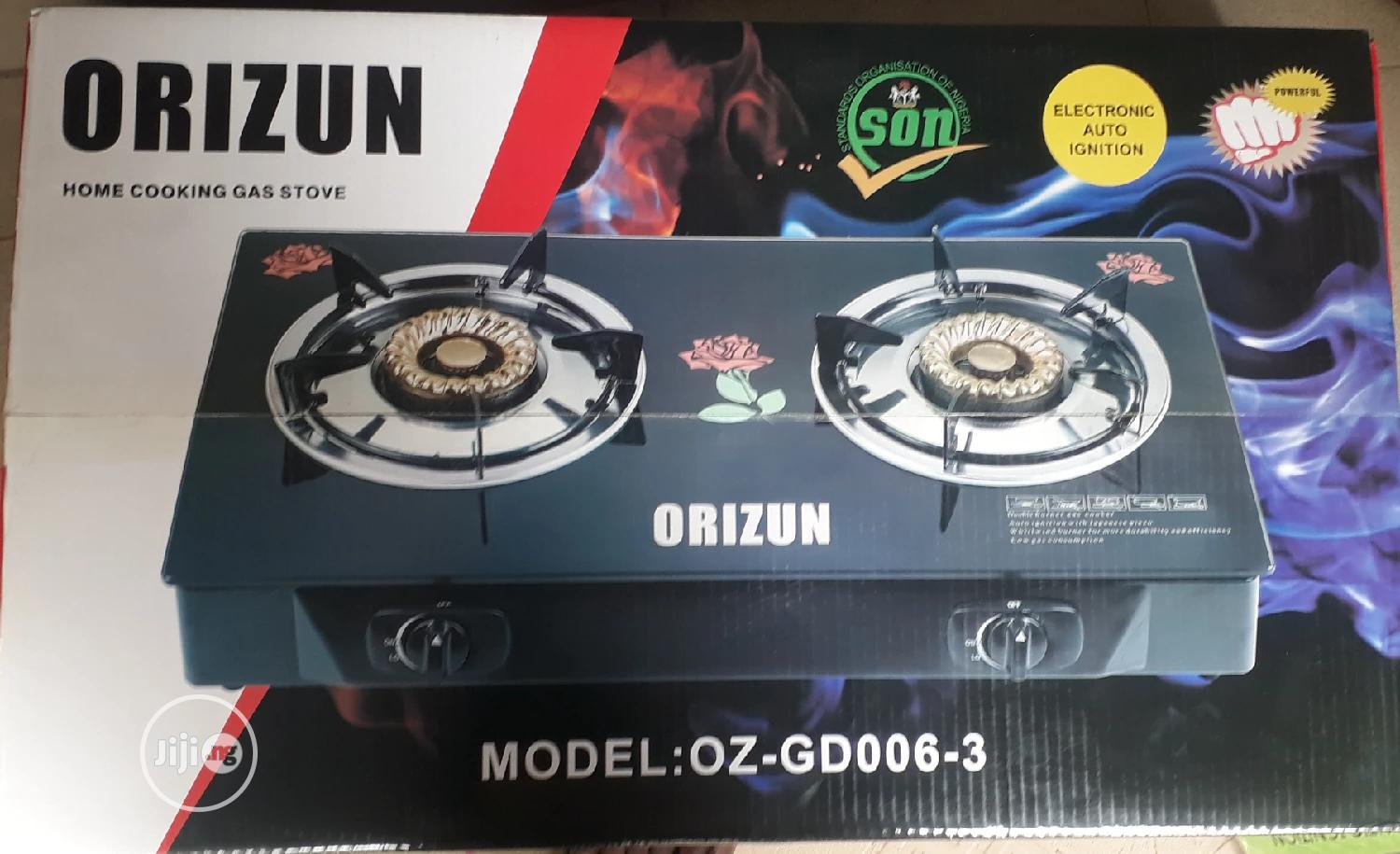 Orizun Glass Gas Cooker
