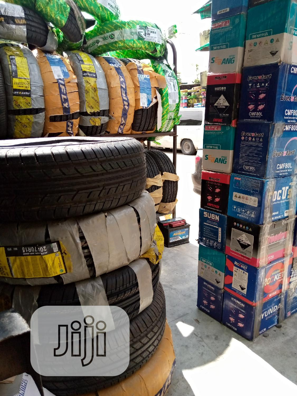 All Season Radial Tires For Jeep And Car Tyre And Battery