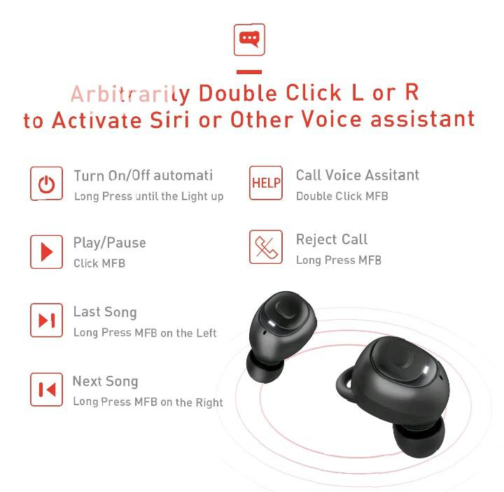 Havit I93 TWS True Wireless Earbuds