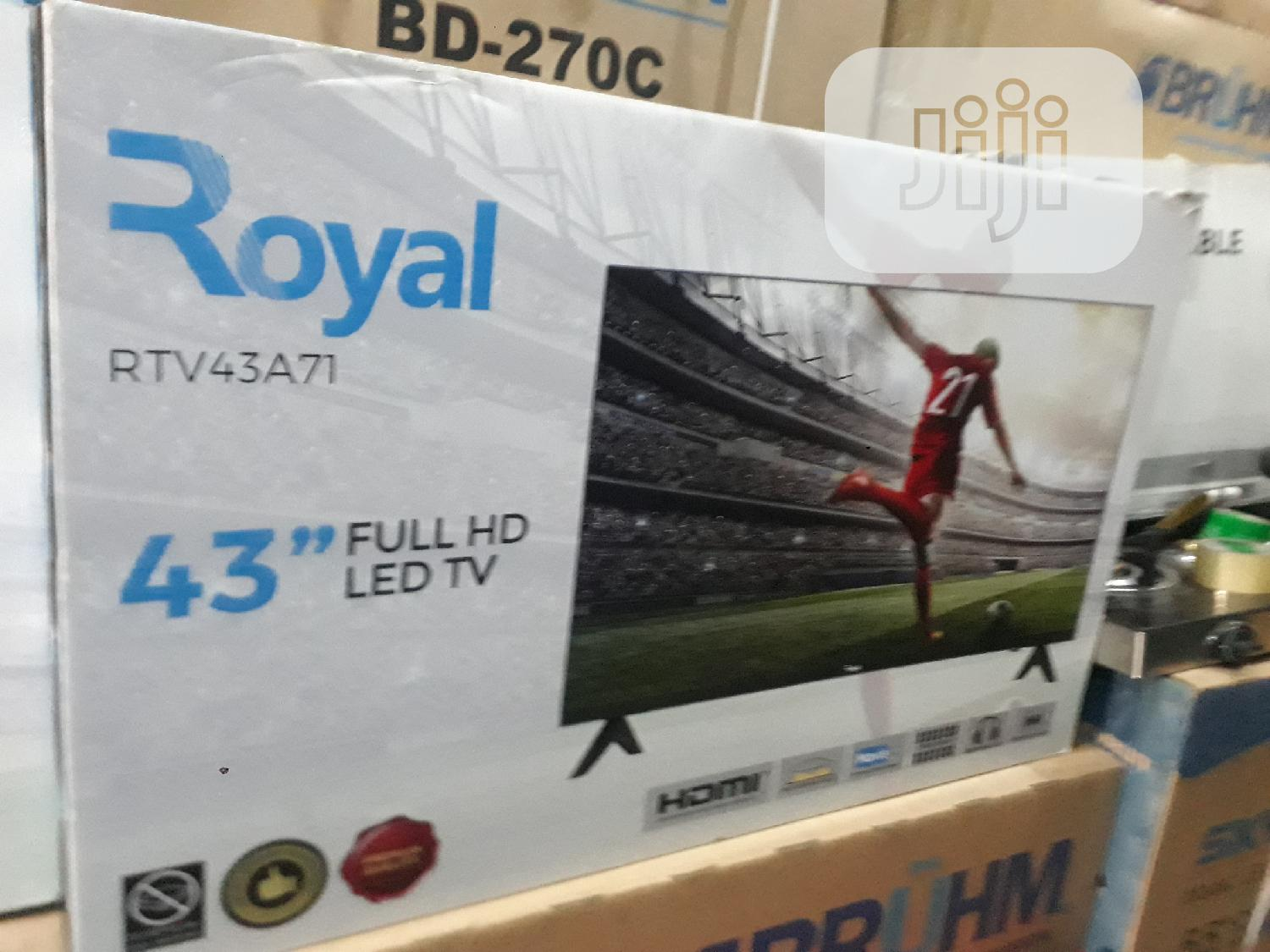 43 Inches Royal LED Television