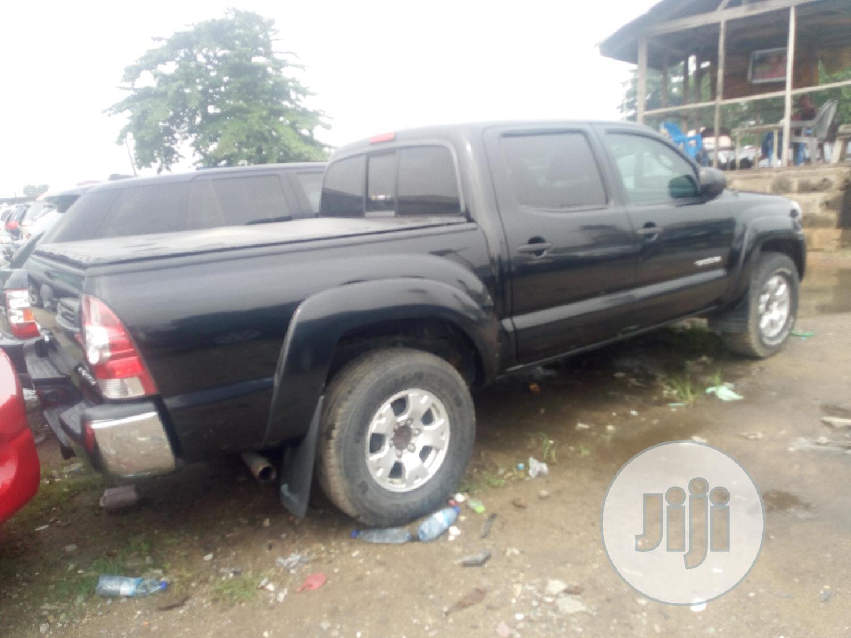 Toyota Tacoma 2009 Access Cab V6 Black   Cars for sale in Amuwo-Odofin, Lagos State, Nigeria