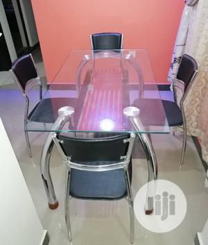 Good Quality Glass Dinning Table With 4 Chairs. | Furniture for sale in Abuja (FCT) State, Central Business Dis