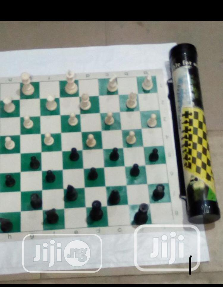 Protable Chess Board | Sports Equipment for sale in Surulere, Lagos State, Nigeria