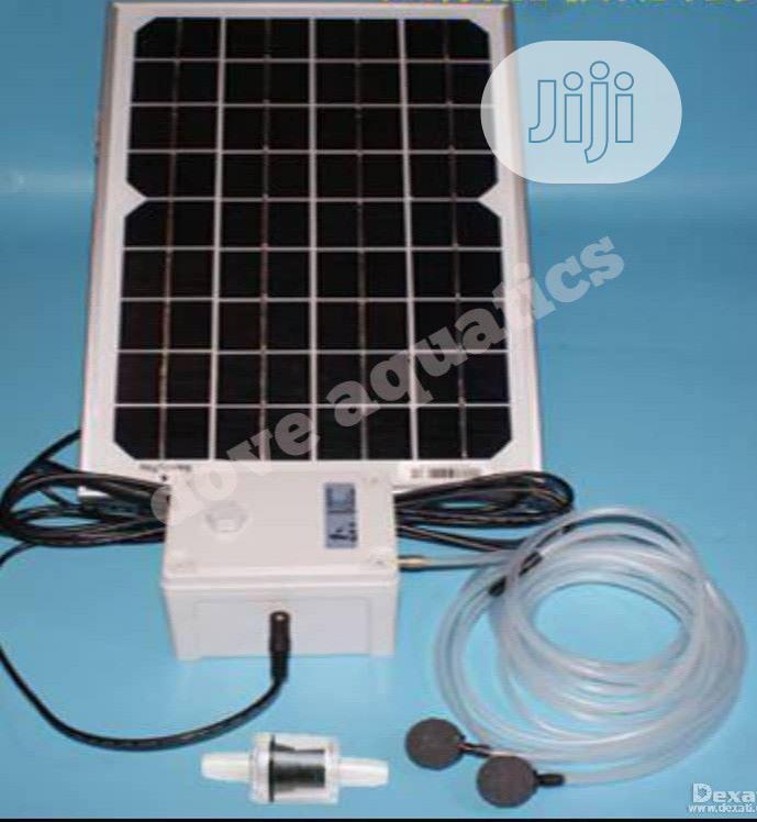 Solar Aerator For Fish Water