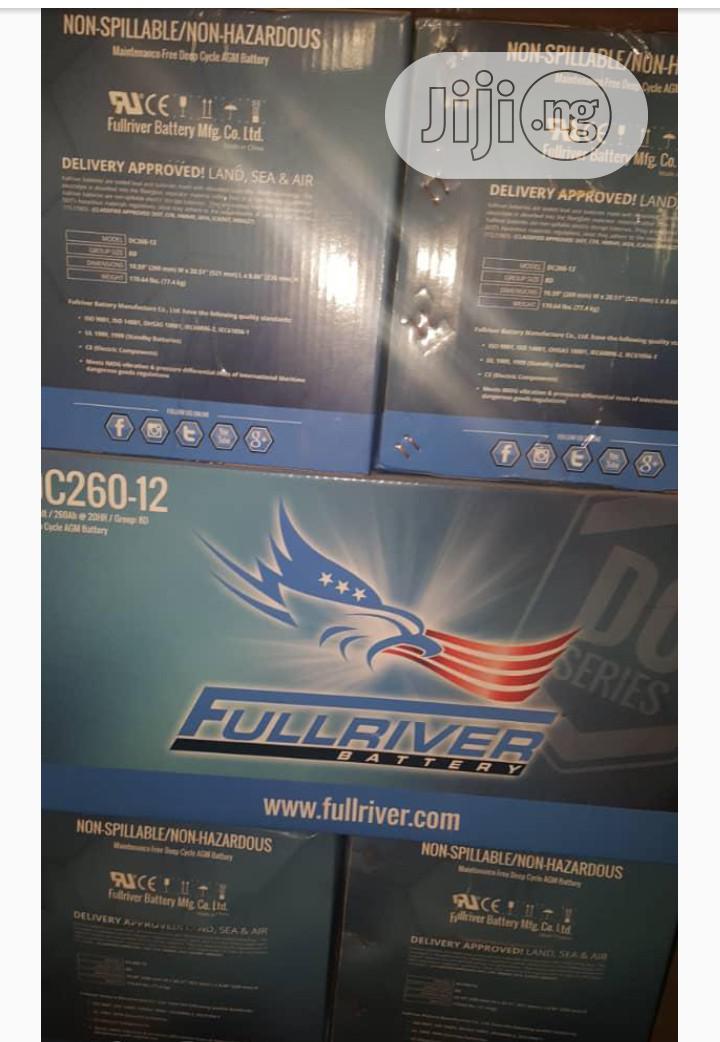 High Quality 12V 260AH Fullriver Solar Battery Very Strong