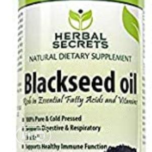 Black Seed Oil. 16oz. Cold Pressed | Vitamins & Supplements for sale in Lagos State, Alimosho