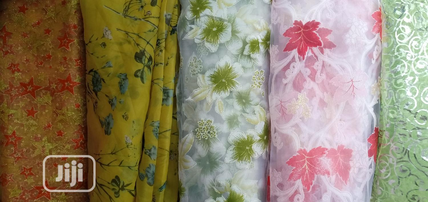 Floral Oganza Is Available In Different Patterns. | Clothing for sale in Ifelodun-Kwara, Kwara State, Nigeria
