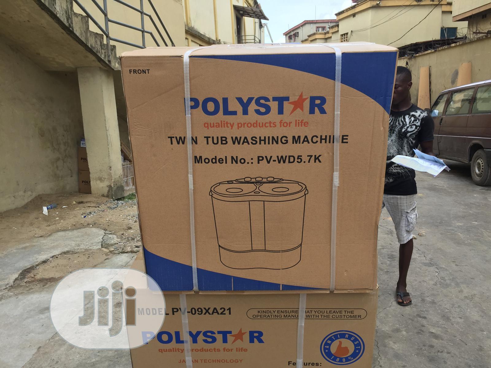 Polystar 5. 7kg Washing Machine | Home Appliances for sale in Amuwo-Odofin, Lagos State, Nigeria