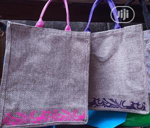 Souvenir Bags Unique Medium Size Jute Bag Sack Bag Party Bag Gift Bag | Bags for sale in Lagos State, Ikeja