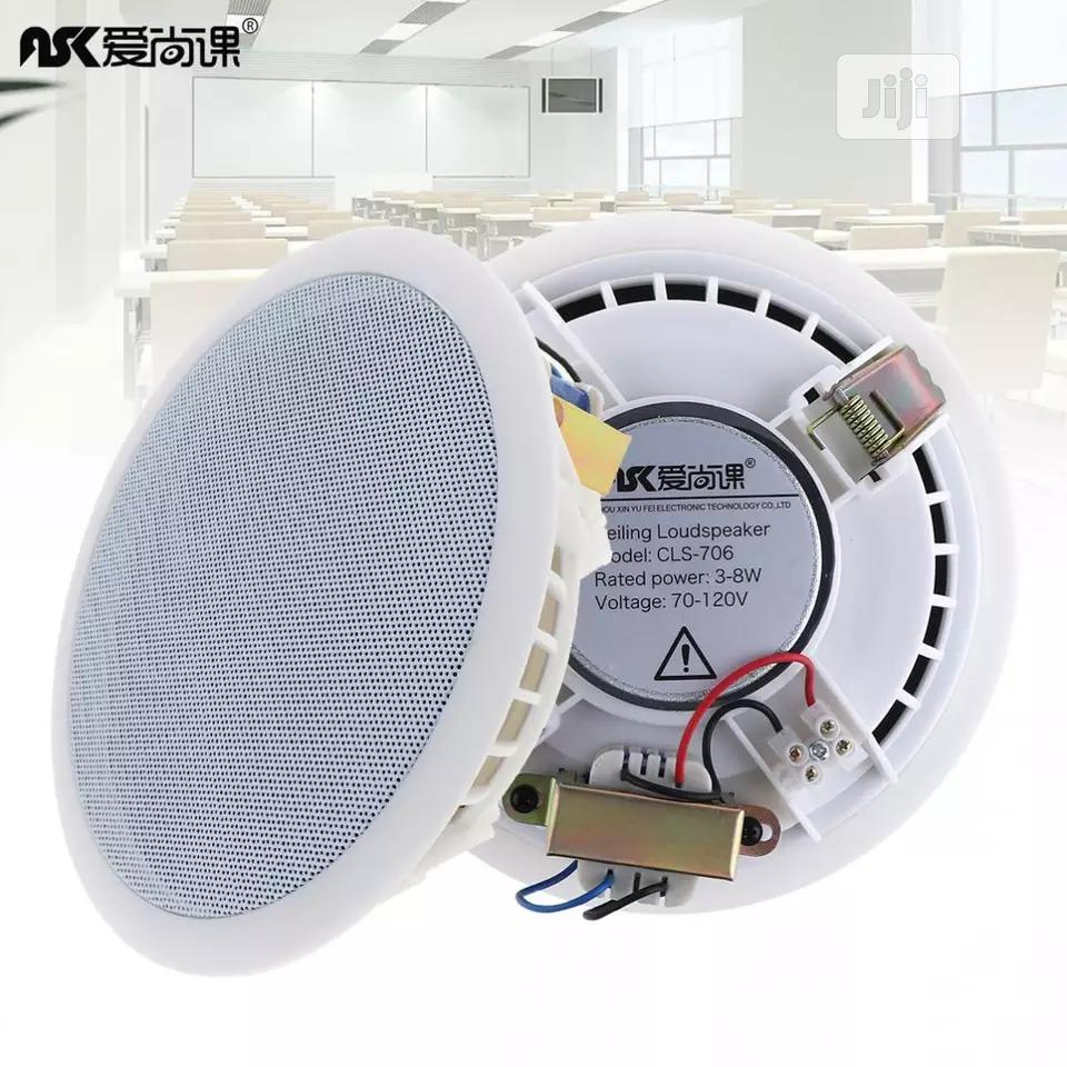 Public Broadcast Background Music Speaker for Home / Supermarket | Audio & Music Equipment for sale in Kubwa, Abuja (FCT) State, Nigeria