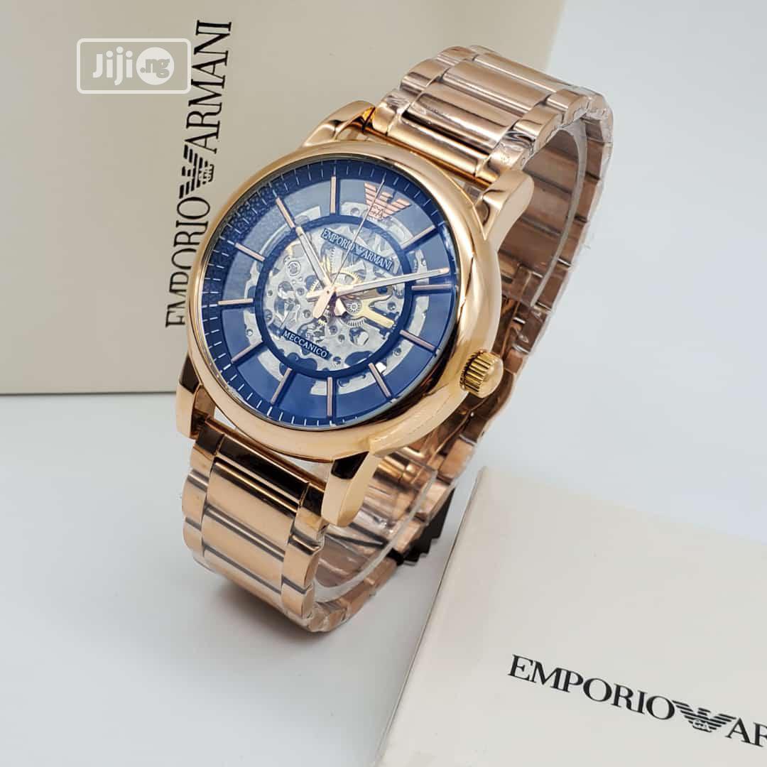 Archive: Emporio Armani Chain Wrist Watch Good Quality
