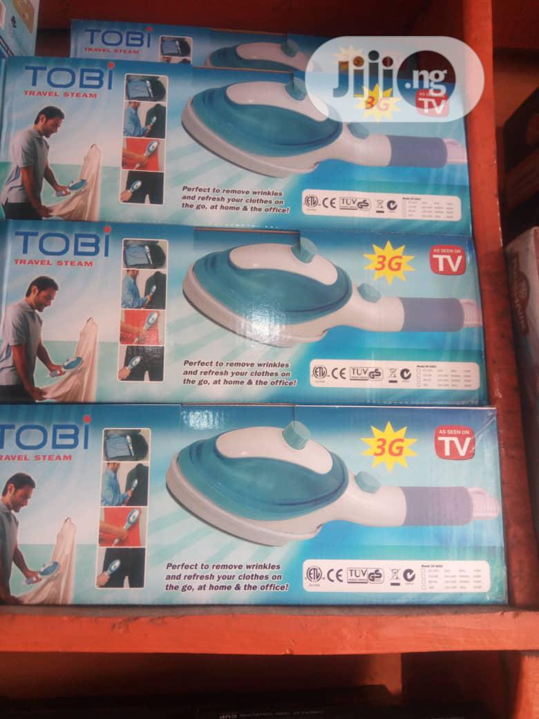 Tobi Steaming Travel Iron | Home Appliances for sale in Surulere, Lagos State, Nigeria