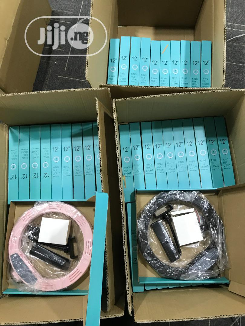 12 Inches Ring Light   Accessories & Supplies for Electronics for sale in Utako, Abuja (FCT) State, Nigeria
