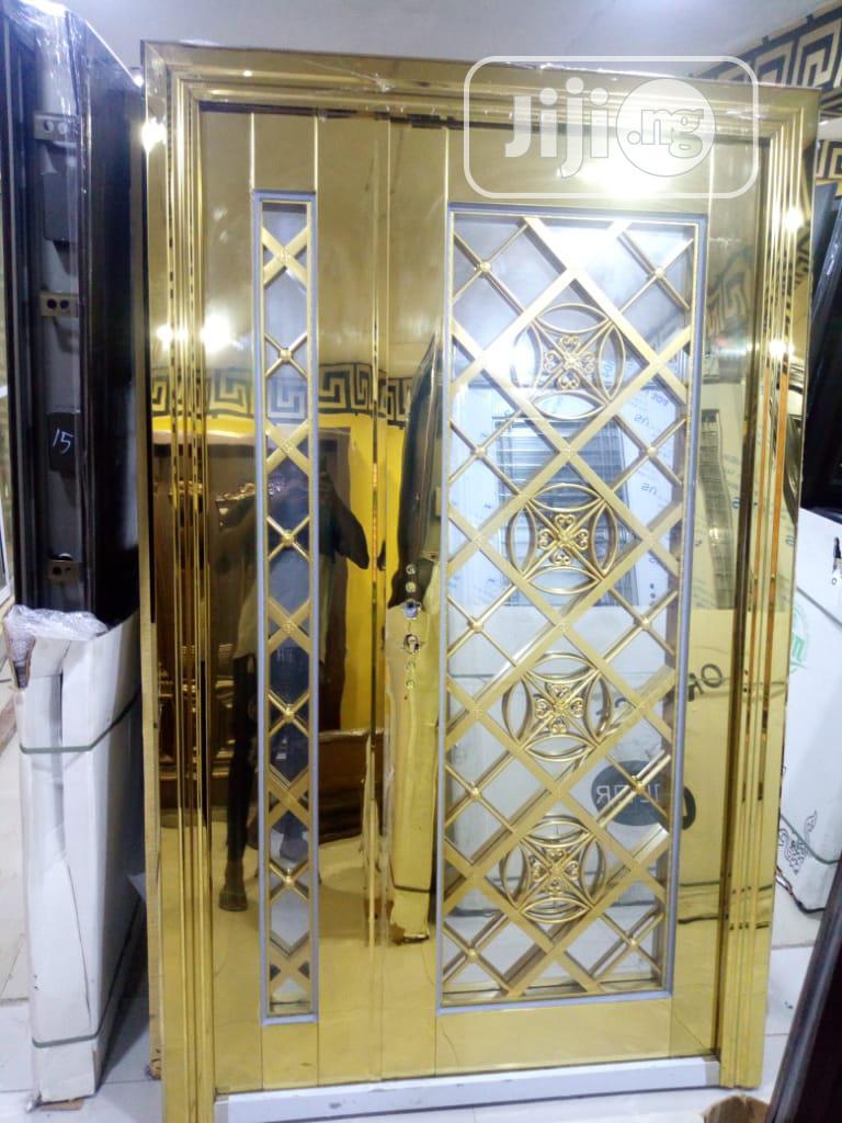 Archive: Gold Stainless Steel Turkey Door