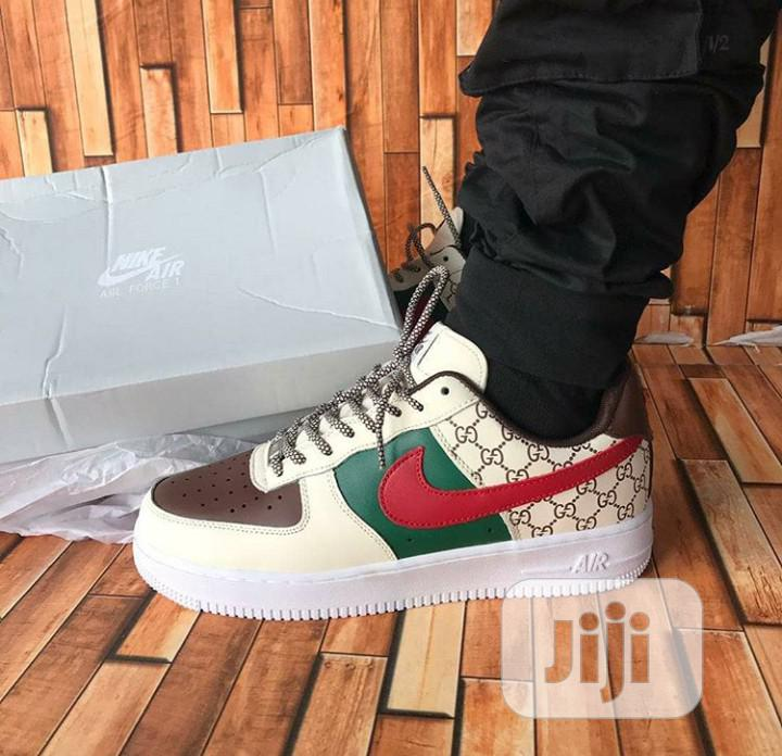 Gucci X Nike Air Force 1 | Shoes for sale in Magodo, Lagos State, Nigeria