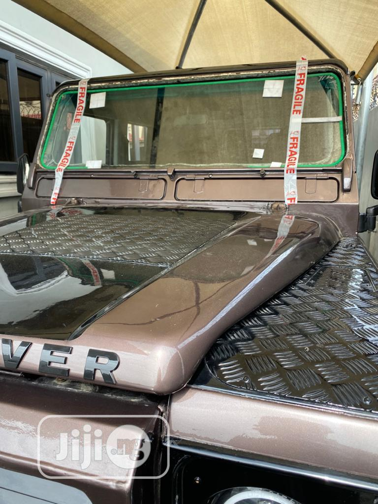 Land Rover Defender 2003 Brown   Cars for sale in Ikoyi, Lagos State, Nigeria