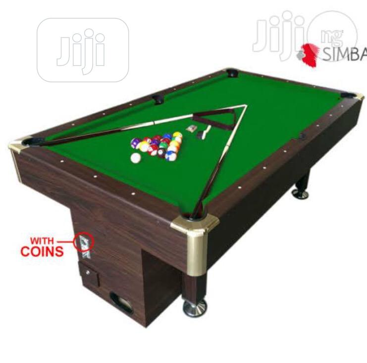 Snooker Coin Marble