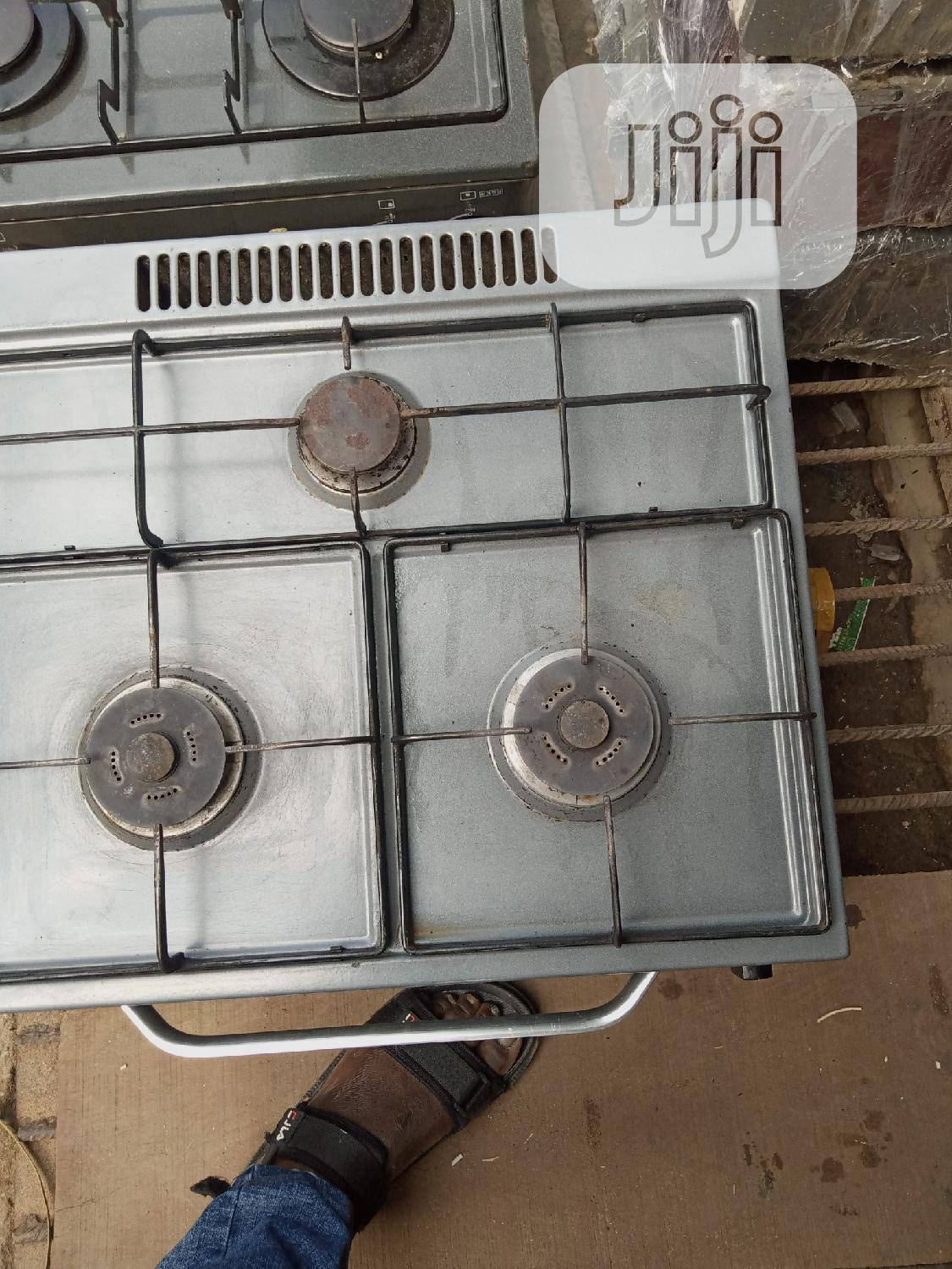 UK Fairly Used Magic 3 Bunner Cooker And Grill Oven | Kitchen Appliances for sale in Ajah, Lagos State, Nigeria