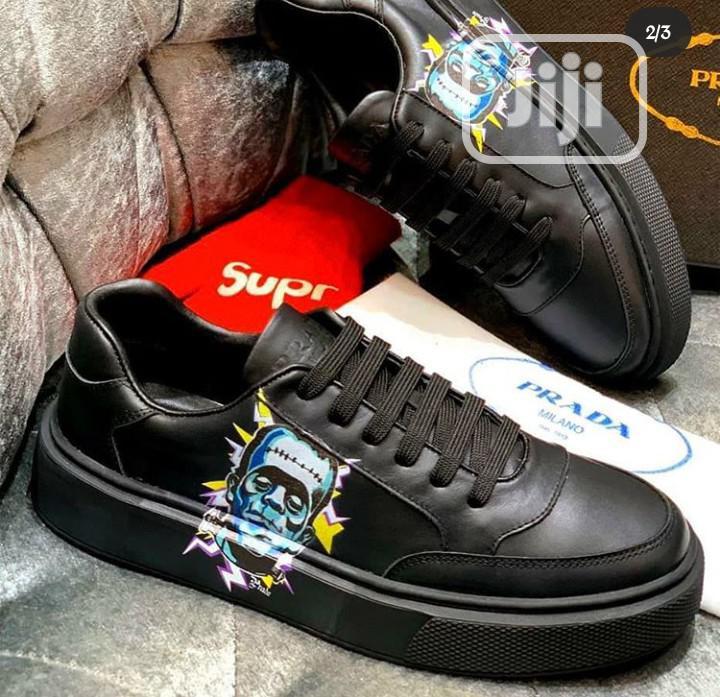 Prada Black Sneakers | Shoes for sale in Magodo, Lagos State, Nigeria