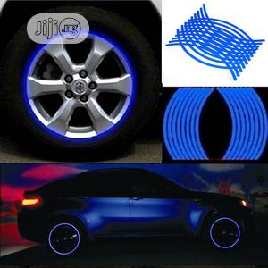 Motorcycle Wheel Stickers And Decals 18pcs Strips Reflective Rim Tape   Vehicle Parts & Accessories for sale in Lagos State, Ikoyi
