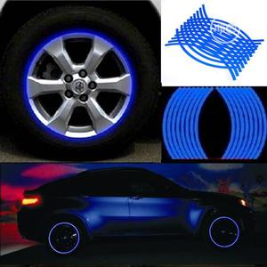 18pcs Strips Reflective Motocross Bike Motorcycle Wheel Stickers   Vehicle Parts & Accessories for sale in Lagos State, Lekki