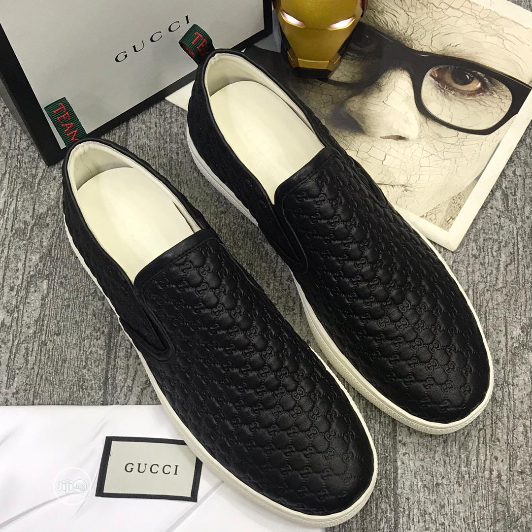 Gucci Laceless Sneakers