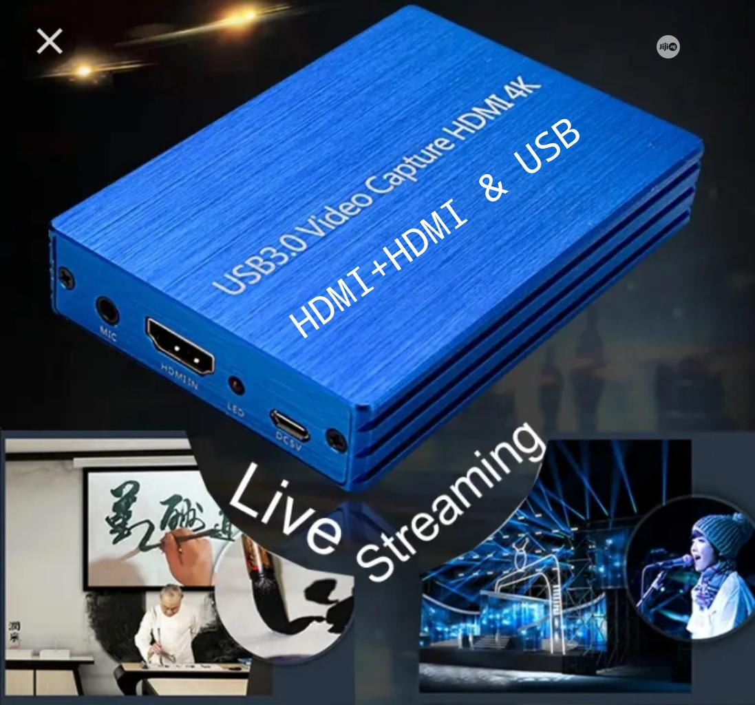 HDMI 4K to USB 3.0 Video Capture Card